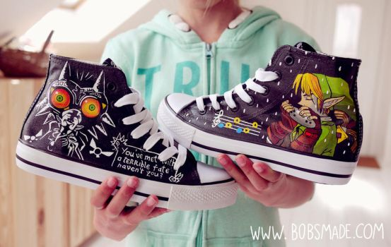 Majoras Mask Shoes by Bobsmade
