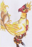 Chocobo :FF type 0: by 13mogirl