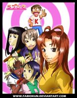 Love hina by fabiokun