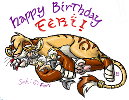 HAPPY BIRTHDAY FERI by Deathcomes4u