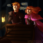KP/Frozen crossover by m-angela