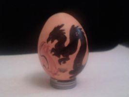 Easter Egg 1 by Corvidraline
