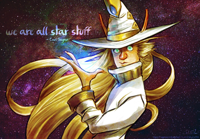 We are all star stuff by Katmomma