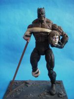 Custom Marvel Legends Marvel Zombies Black Panther by cusT0M