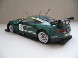 Aston Martin DBR9 Papercraft by savaskul
