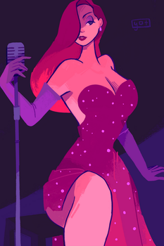 jessica rabbit by vellumed