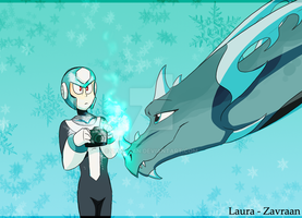 Icy encounter by zavraan
