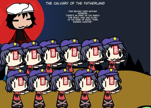 The Calvary Of The Fatherland by Weasels777
