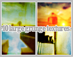 10 big grunge textures by Tove91