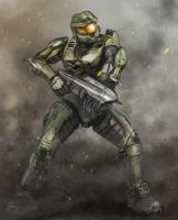 Halo Speedpaint by halohunter