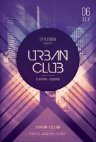 Urban Club Flyer by styleWish