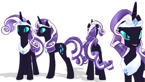 MMD MLP Newcomer: Nightmare Rarity by Zoroark67