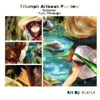 Triumph Artbook Preview: Pass Through by FLAFLY