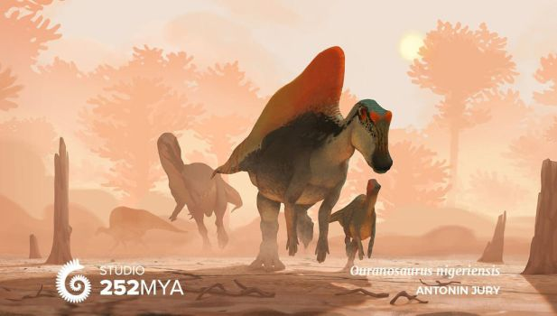 Earth Archives - Ouranosaurus nigeriensis by AntoninJury