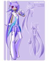 Sash Lilac Anthro Design by ZiyoLing