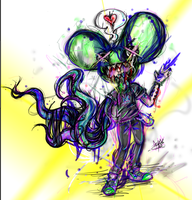Monster Mau5 by SuperRibbonGirl