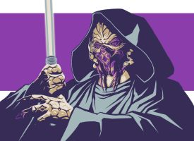 Plo koon -color palette challenge by MelHell84