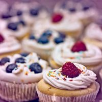 Cupcakes with Butter-Cream by ArtOfFragility