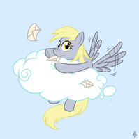 Derpy by Corpsecrow