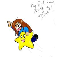 First Tablet Drawing by Pokemon-Chick-1