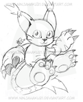 Gatomon by NinjaHaku21