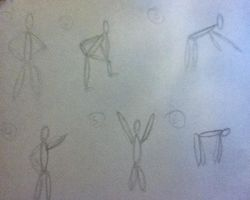 Gesture Drawings part 3 by Tlong2011