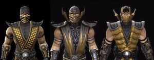 Mortal Kombat Bio Stills: SCORPION by CrucialSuicide