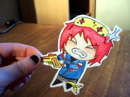 Party Poison Paper Child by MusicMayhem399