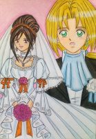 Zidane and Garnet's wedding by dagga19 by dagga19