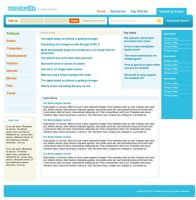 An Article Directory Template by mediarays
