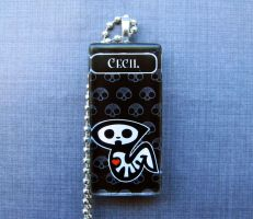 Cecil skelanimals necklace by AngelElementsEtsy