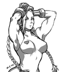 Points commission: Muscle Cammy by Rolly-Chan