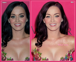 Katy Perry Retouch by KreativeMx