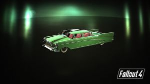 Fallout 4 Cadillac by killerdoll123