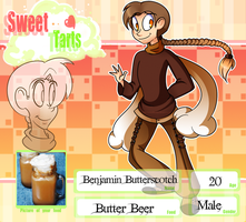 Sweet Tarts: Butter Beer by TwistedDisaster