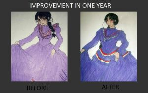 Improvement in one Year by Ale-L