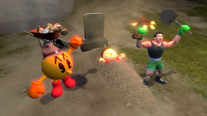 Little Mac vs Villager: Buried Alive by TheCaptainPatrick