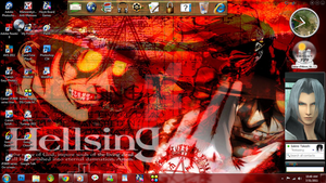 Alucard Desktop Screenshot by DragonessBlue