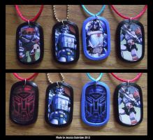 Transformers Dog Tags by kellendraysia