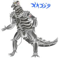 Mechagodzilla rendition by Guyverman