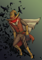 Scarecrow by Super-kip