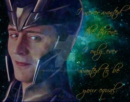 Loki Month Prompt #1 by MagnaAngel
