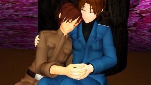 MMD: Itacest - Siesta by Free-Beloved-Army
