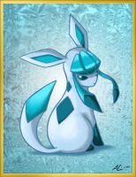Pokeddex15: Glaceon by Nanaga