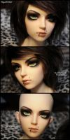 Face-up: Migidoll Miho - 6 by asainemuri