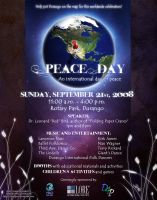 Peace Day Poster 2008 by AsraiLight