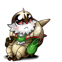Chibi Pokemon - Chesnaught by Springtrap622