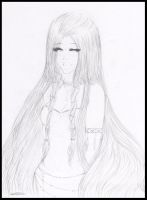 .: Naira - Sketch :. by StrawberriOnTop