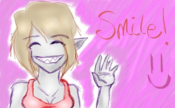 100 Art List: Smile by Lady-Maico