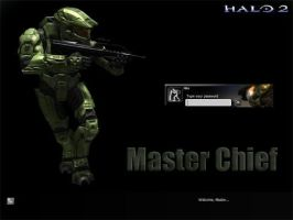 Halo 2, Master Chief by kuevlaar